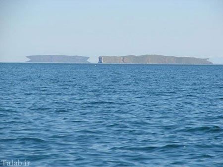 تا حالا در دریا سراب دیده بودید؟ + عکس