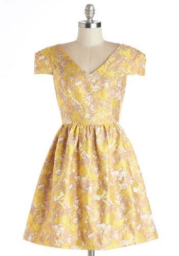 جدید ترین مدل لباس مجلسی زرد