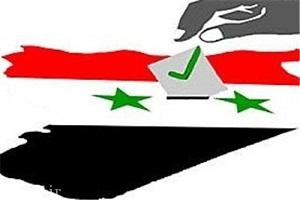 این سرباز سوری با خون رأی داد + تصاویر