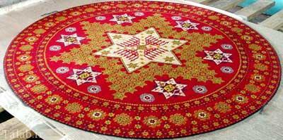 آشنایی با هنر قالی بافی ایرانی - فرش ناب ایرانی