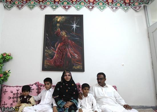 اولین خانم بلوچ اهل سنت فرماندار شد + عکس