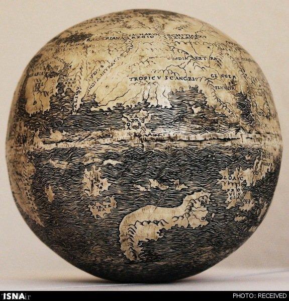 کهن ترین کره جغرافیایی تاریخ (عکس)