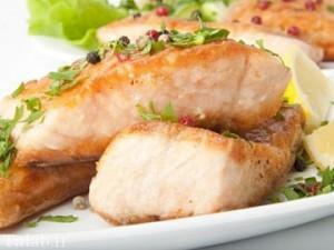 طرز تهیه ماهی آزاد پخته شده در فر
