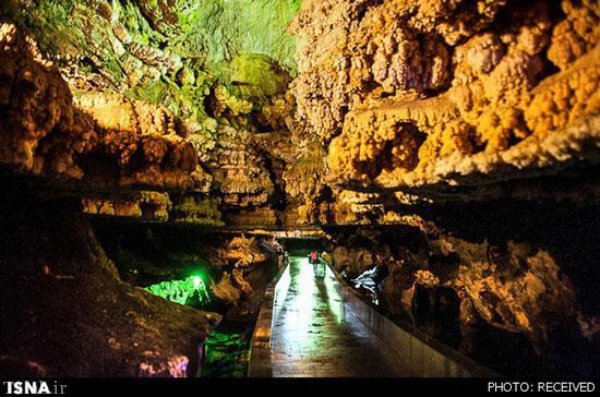غار علیصدر در همدان بزرگترین و طولانیترین غار آبی جهان است