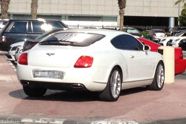 عکس هایی از پارکینگ یکی از دانشگاه های دبی
