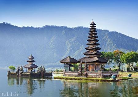 تصاویری از جزایر زیبای بالی