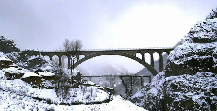 پل بی نظیر ورسک در استان مازندران !+ تصاویر