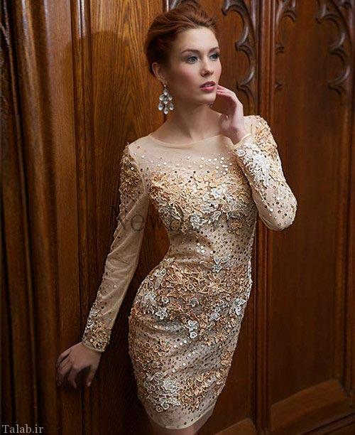 مدل لباس مجلسی و لباس شب زنانه
