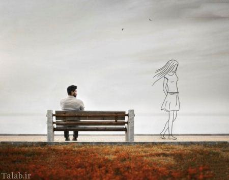 غمگین ترین عکس های عاشقانه