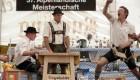 مسابقه ای قوی ترین انگشت در آلمان + عکس
