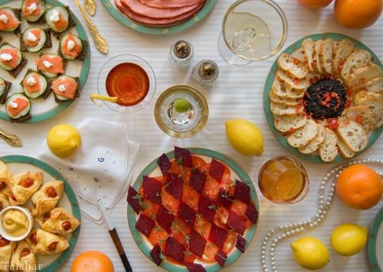 از ساندویچ هولدن کالیفیلد تا چای آلیس در سرزمین عجایب + تصویر