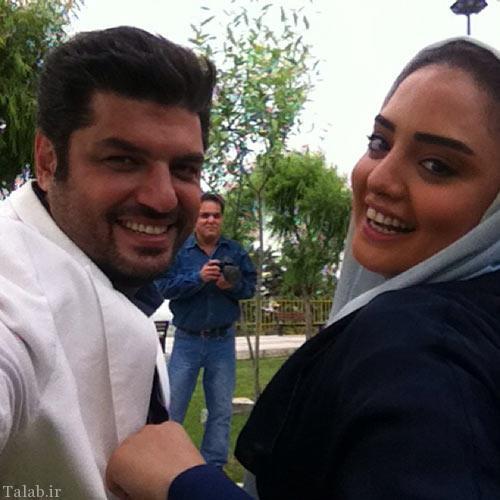 تصاویری از بازیگران محبوب ایرانی نرگس محمدی و سام درخشانی