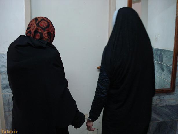 زن عنکبوتی ایران به دام پلیس افتاد (+عکس)