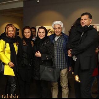 حضور جنجالی چهره های مشهور ایرانی در یک نمایشگاه