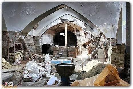 تصاویری از عجایب حمام شیخ بهایی در اصفهان