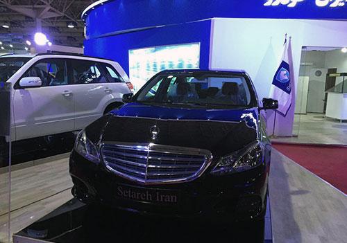 بنز مونتاژ E200 ایران خودرو + عکس