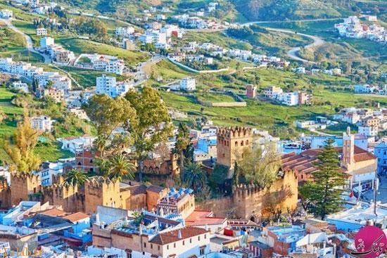 دیدنی های شهری زیبا به رنگ آبی در مراکش
