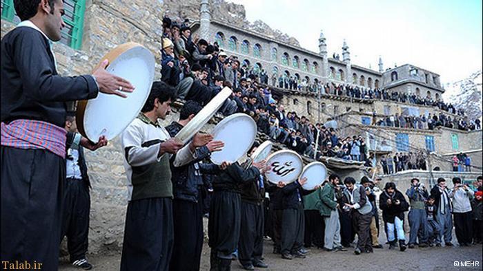 مکان های دیدنی استان کردستان
