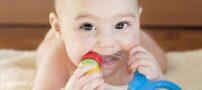 مراحل دندان درآوردن نوزاد
