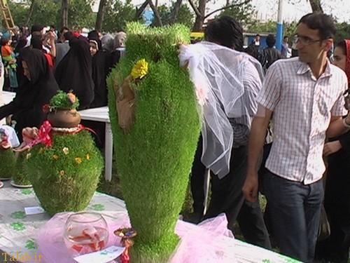 نمونه های جدید و زیبای سبزه عید