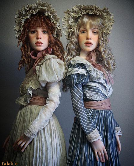 عروسک های شگفت انگیز مینیاتوری انسان نما