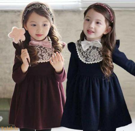 مدل های شیک و باکلاس لباس مجلسی دخترانه 95