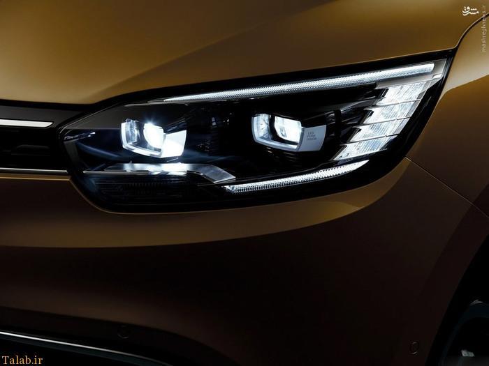 شیک ترین خودروی مینی ون رنو را ببینید (تصاویر)
