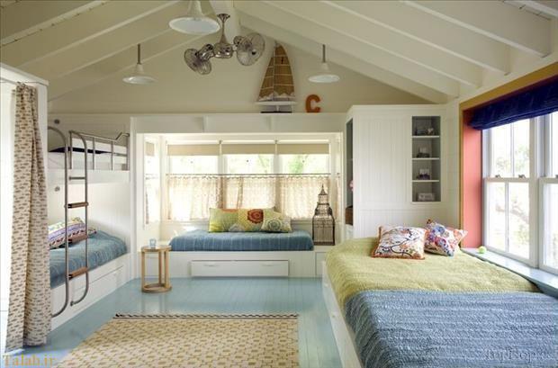 دکوراسیون متفاوت و دیدنی اتاق خواب کودک