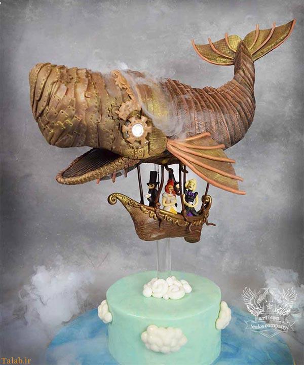 عجیب ترین و خلاقانه ترین مدل های کیک