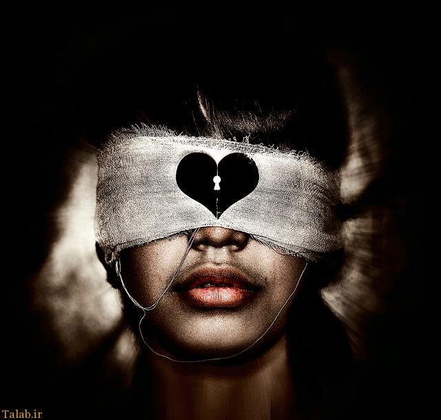این مرد ثابت کرد عشق چشم دل میخواهد
