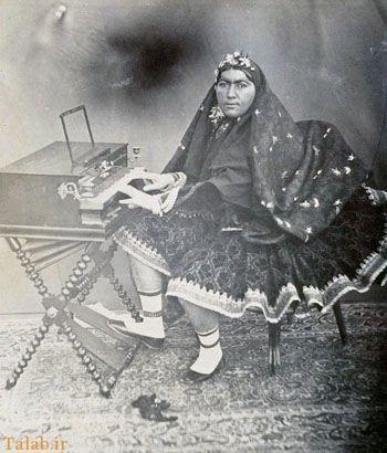 آخرین همسر ناصرالدین شاه در سن پیری