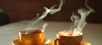 چای را در هوای گرم بنوشید