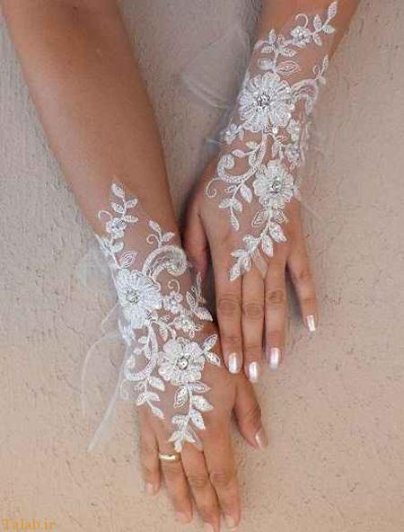 مدل های زیبای دستکش عروس