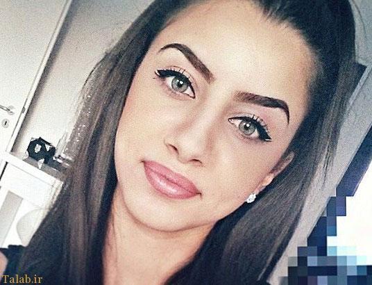 جنجال چشمهای جادویی این دختر زیبا