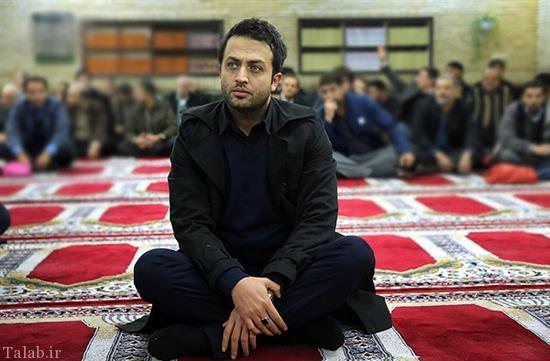 اشک و احساسات مصطفی زمانی در تشییع فرج الله سلحشور