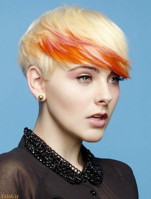رنگ موهای فانتزی 2016