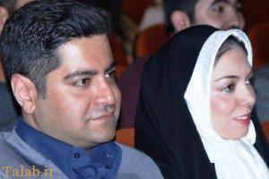 آزاده نامداری و همسرش در یک مراسم (عکس)