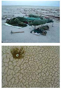 عجیب ترین کویر ایران به نام ریگ جن + عکس