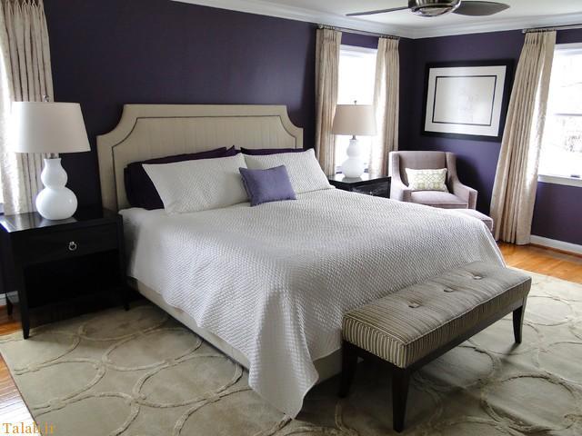 مدل چیدمان اتاق خواب عروس و داماد