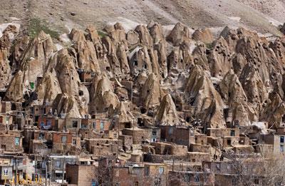 روستای تاریخی کندوان در دل کوه + عکس