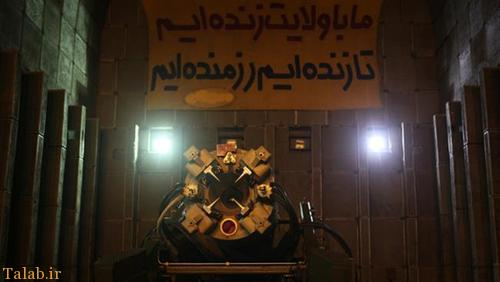 تصاویر انبارهای زیرزمینی موشک های سپاه و شلیک موشک های دوربرد