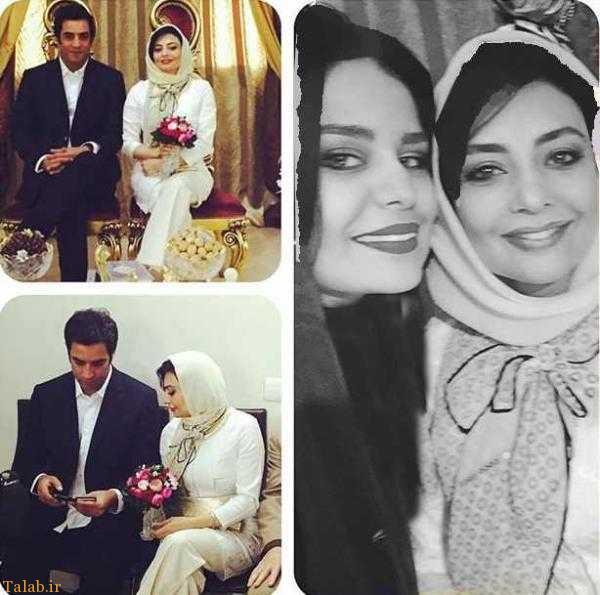 عکس های عروسی منوچهر هادی و یکتا ناصر