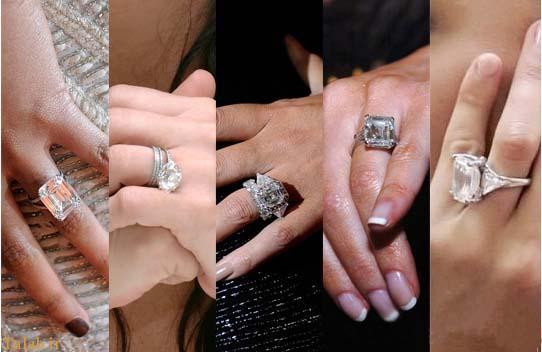 گران ترین حلقه ازدواج در افراد معروف هالیوود