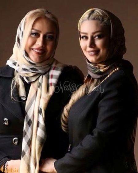 عکسی از سحر قریشی و مادرش ندا افشار