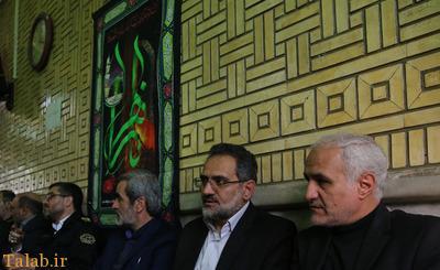 تصاویری از مجلس ترحیم فرج الله سلحشور