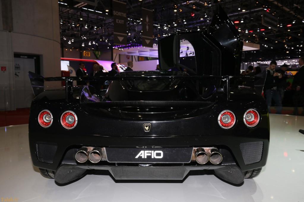 سوپر ماشین شرکت اتومبیل سازی آرش در نمایشگاه ژنو 2016
