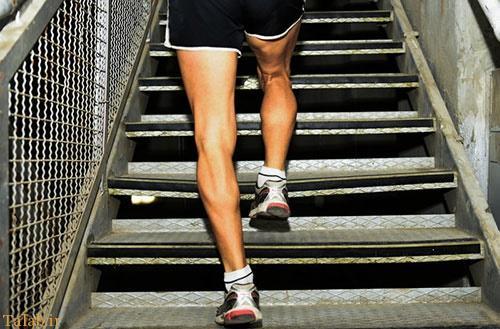 بالا رفتن از پله شما را جوان تر میکند