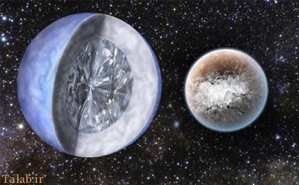 کشف الماسی غول پیکر به اندازه کره زمین (+عکس)