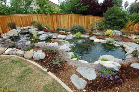 زیباسازی حیاط کوچک آپارتمان برای فصل بهار