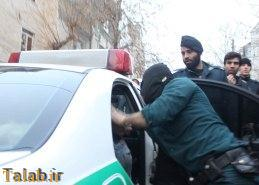 چاقو کش معروف تهران دستگیر شد !! + عکس